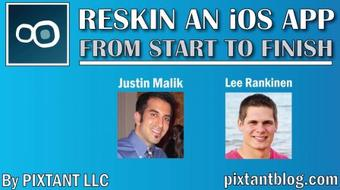 Reskin an iOS App from Start to Finish course image