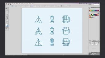 Icon Design: Create a Cohesive Icon Set course image