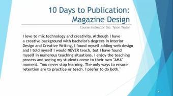 Digital Magazine Publishing for Everyone course image