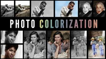 Photo Colorization in Photoshop: Bring B&W Photographs to Life course image