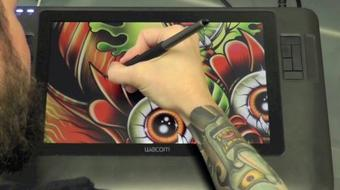 Illustrate a Custom Mandala Design in Adobe Photoshop with Your Graphics Tablet course image