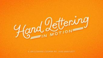 Hand Lettering in Motion course image