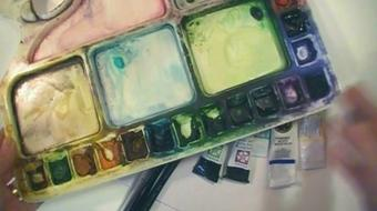 Watercolor's Full Potential: Exploring Fluid Painting course image