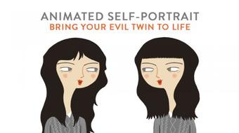 Animated Self-Portrait: Bring Your Evil Twin to Life course image