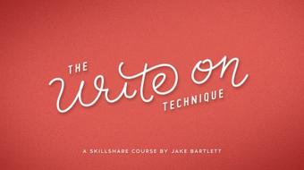 The Write On Technique: Hand Lettering In Motion course image