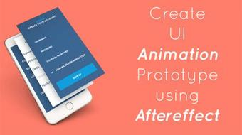 After Effects For Designers - Create Animated User Interface Designs course image