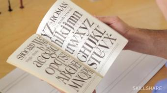 A Comprehensive Guide to Hand Lettering: Creating Graphic and Script Styles course image