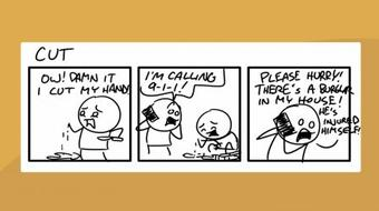 Using Improv to Fuel Your Comics: Creating Funny Webcomics course image