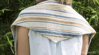 Knitting II: Learn Stitch Widths with a Triangle Scarf course image