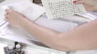 Calligraphy II: Finding Your Personal Script Style course image