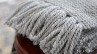 Knitting I: Learn the Basics with a Simple Scarf course image