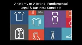 Anatomy of A Brand: Fundamental Copyright & Legal Concepts and Pricing Strategy course image