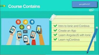 Create Android and iOS Apps with HTML, CSS and JS course image