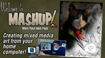 Mashup - Where Pencil Meets Pixels: Creating Mixed Media Art From Your Home Computer course image