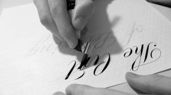 The Art of Lettering: Intro to Hand-Drawn Script course image