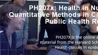 Health in Numbers: Quantitative Methods in Clinical & Public Health Research course image