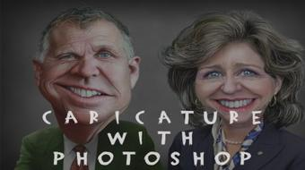 Create Your Own Digital Caricature With Adobe Photoshop course image